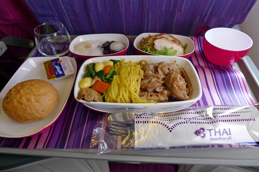 Thai Airways Economy Meal