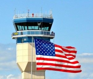 American Flag & Tower