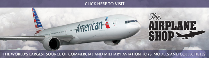 Airplane Shop Banner Ad 1