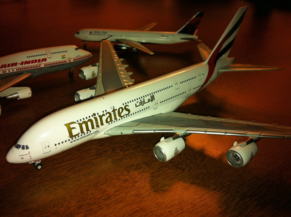 Emirates A380 Diecast Model