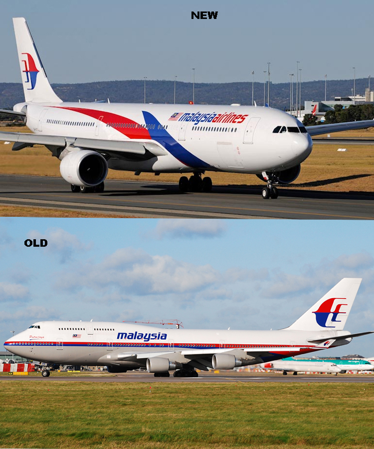 Malaysia Airlines Liveries