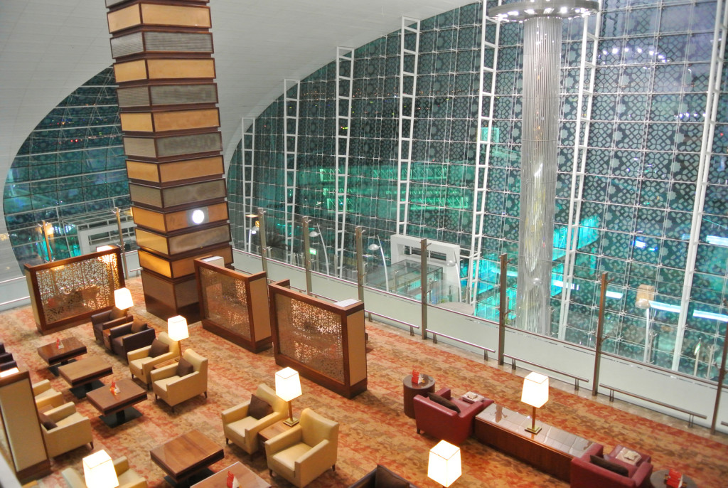 Emirates DXB Lounge