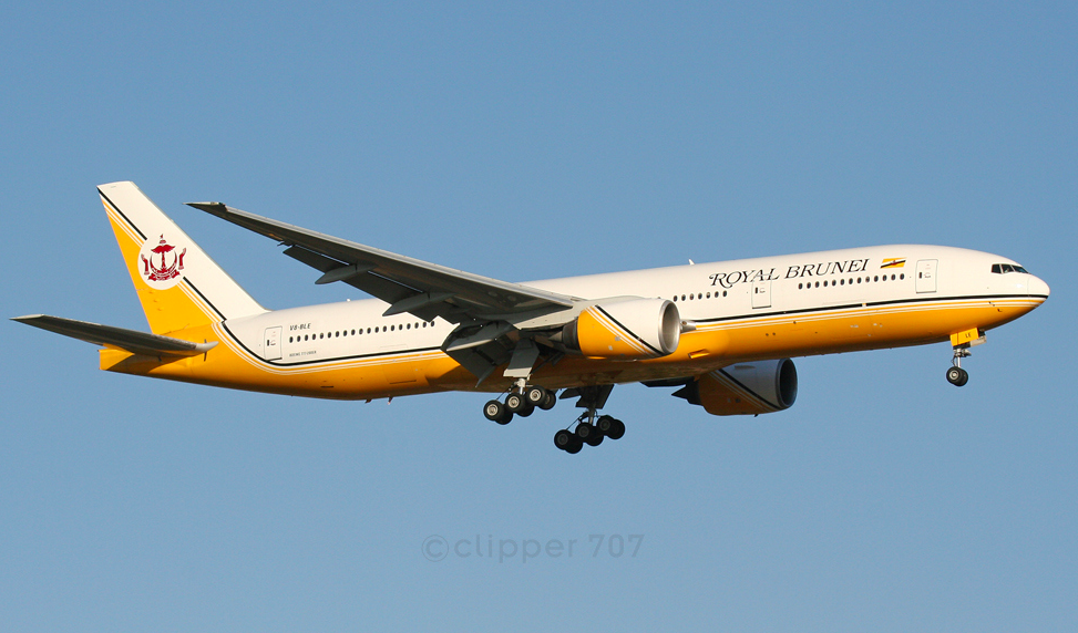 Royal Brunei old livery 777