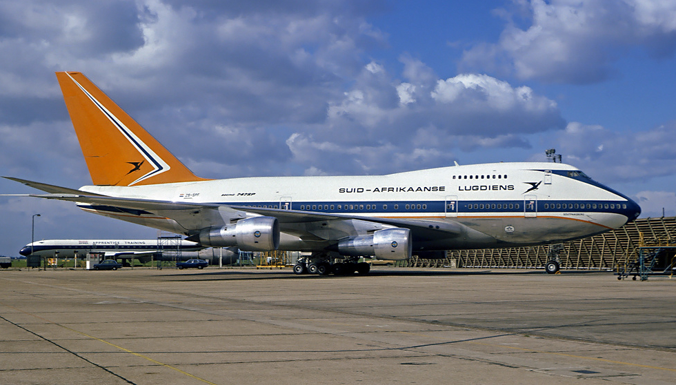 South African 747SP Classic