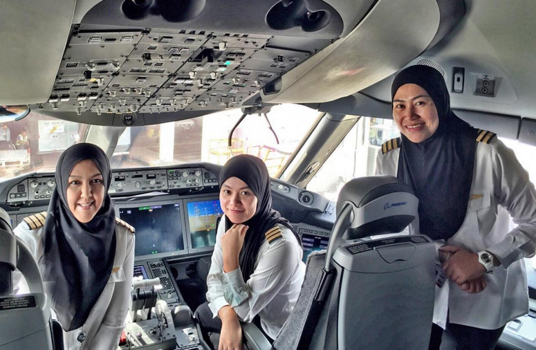 Royal Brunei Female Crew