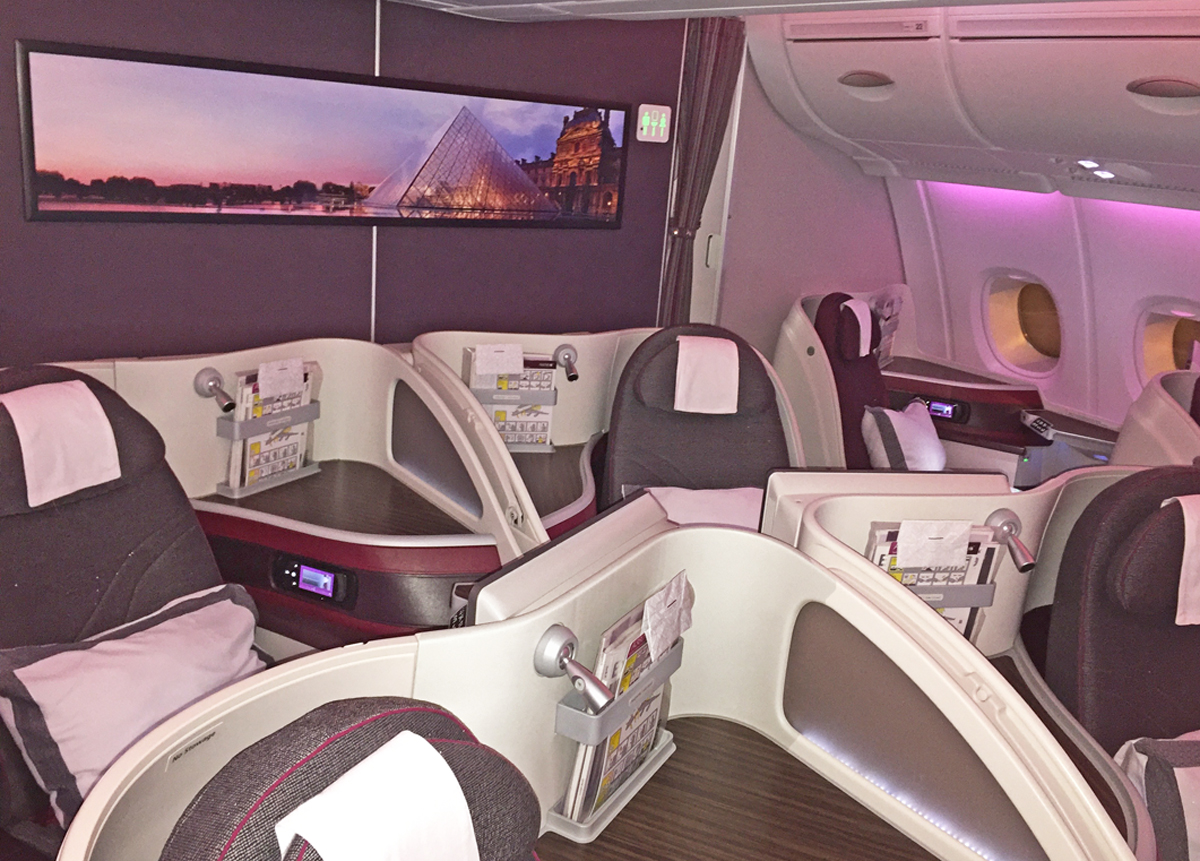 Knowledgeable Qatar Airways First Class Pjs Airlines