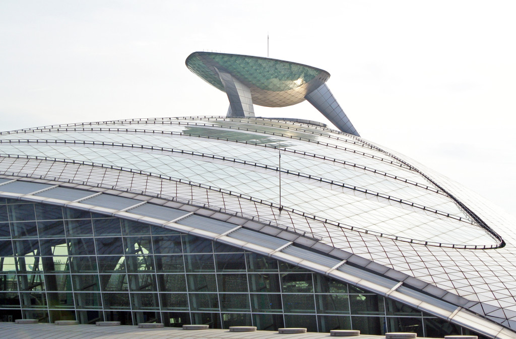 Incheon Airport railway station.    Photo by author.