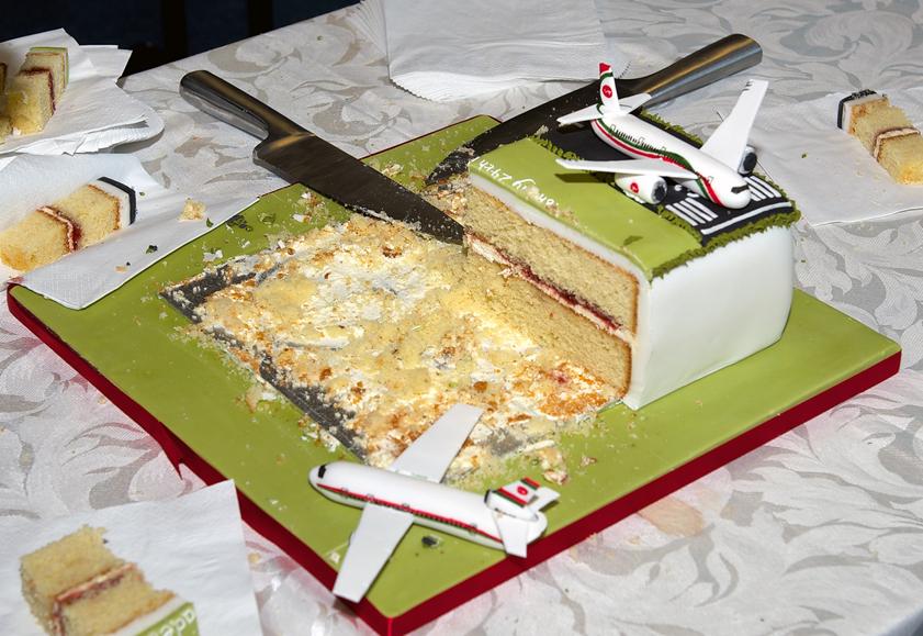 Biman DC-10 cake