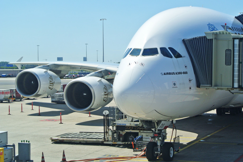 Emirates A380 Exterior