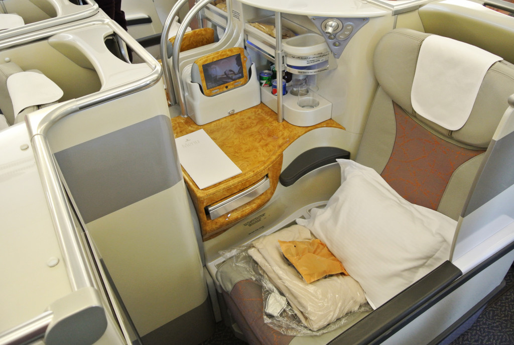 Emirates A380 Seat 2