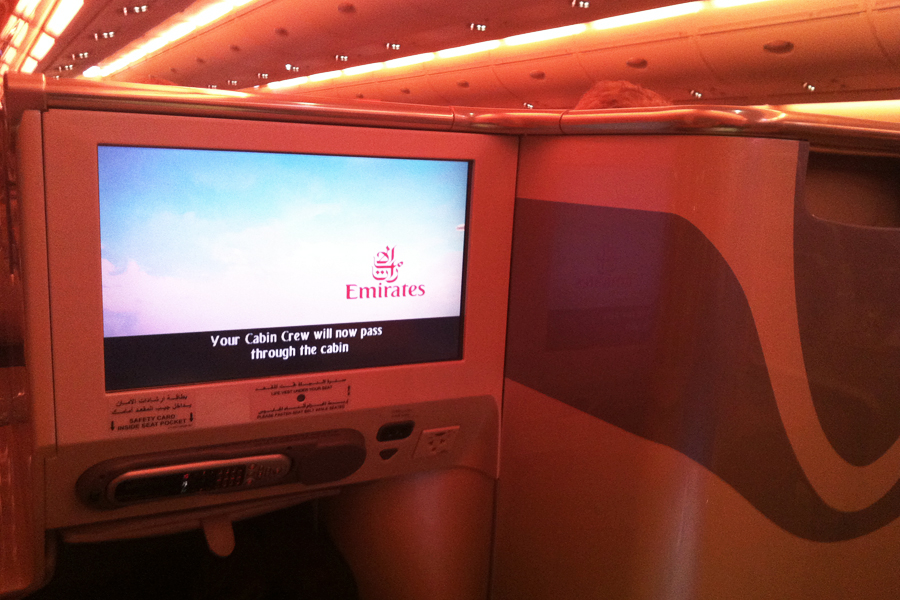 Emirates A380 Video