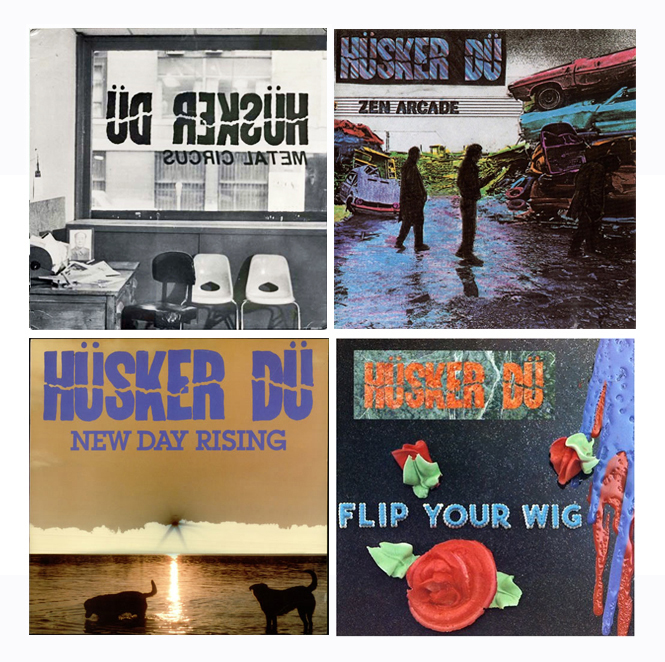 "Husker Du ""Four Seasons"" Collage"