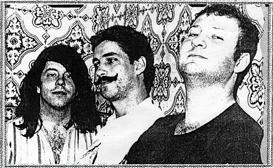 Hart, Norton and Mould in 1985.   (Boston Rock magazine)