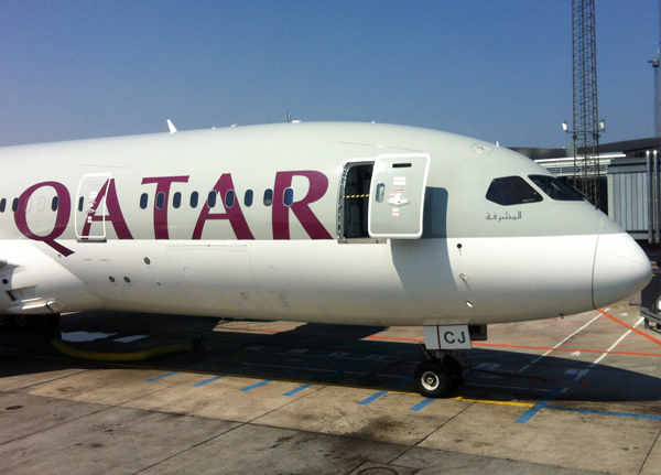 Qatar 787 at CPH