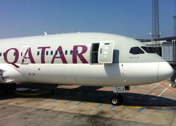 Qatar 787 at CPH