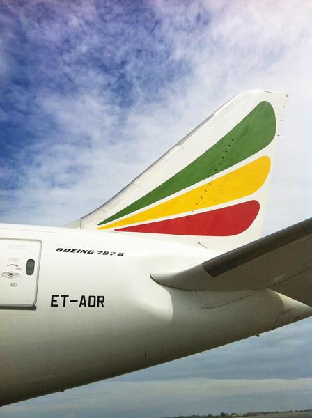 Ethiopian 787 Tail