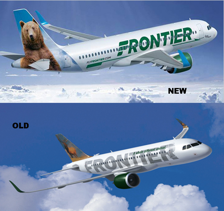 Frontier Liveries