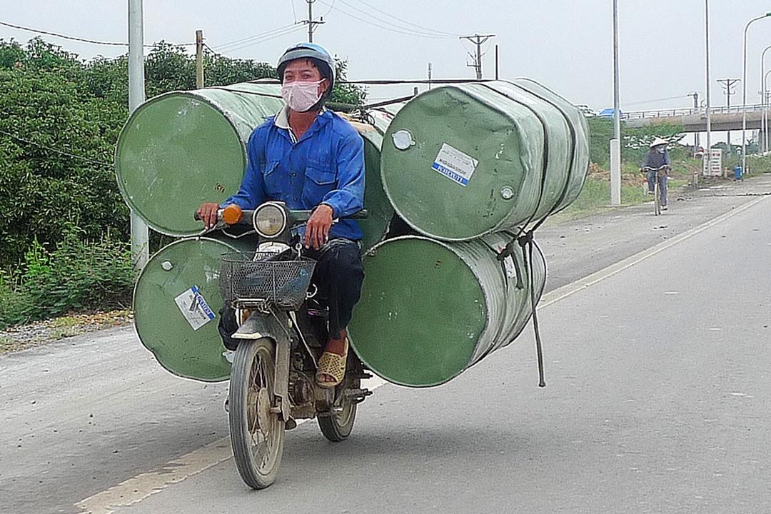 Hanoi, Barrels