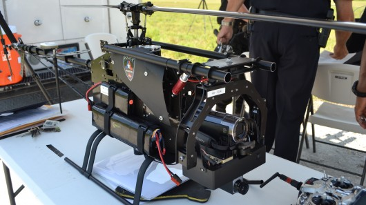 A Lepton Avenger drone used by police in Arlington, Texas.