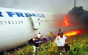 Evacuation, Air France