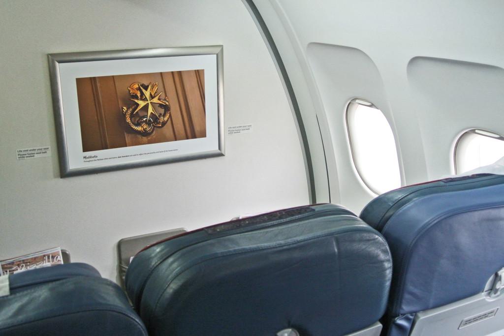 Air Malta Bulkhead