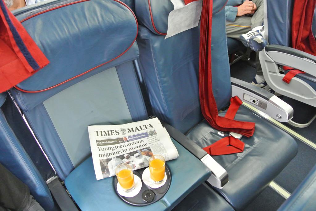 Air Malta Fold-Down