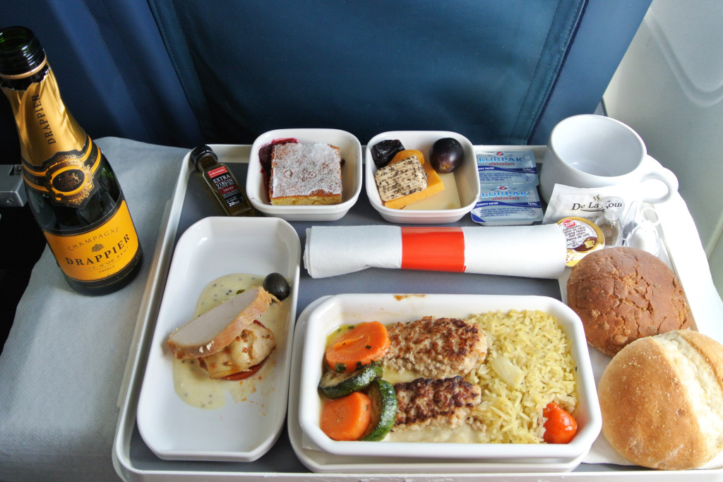 Air Malta Lunch