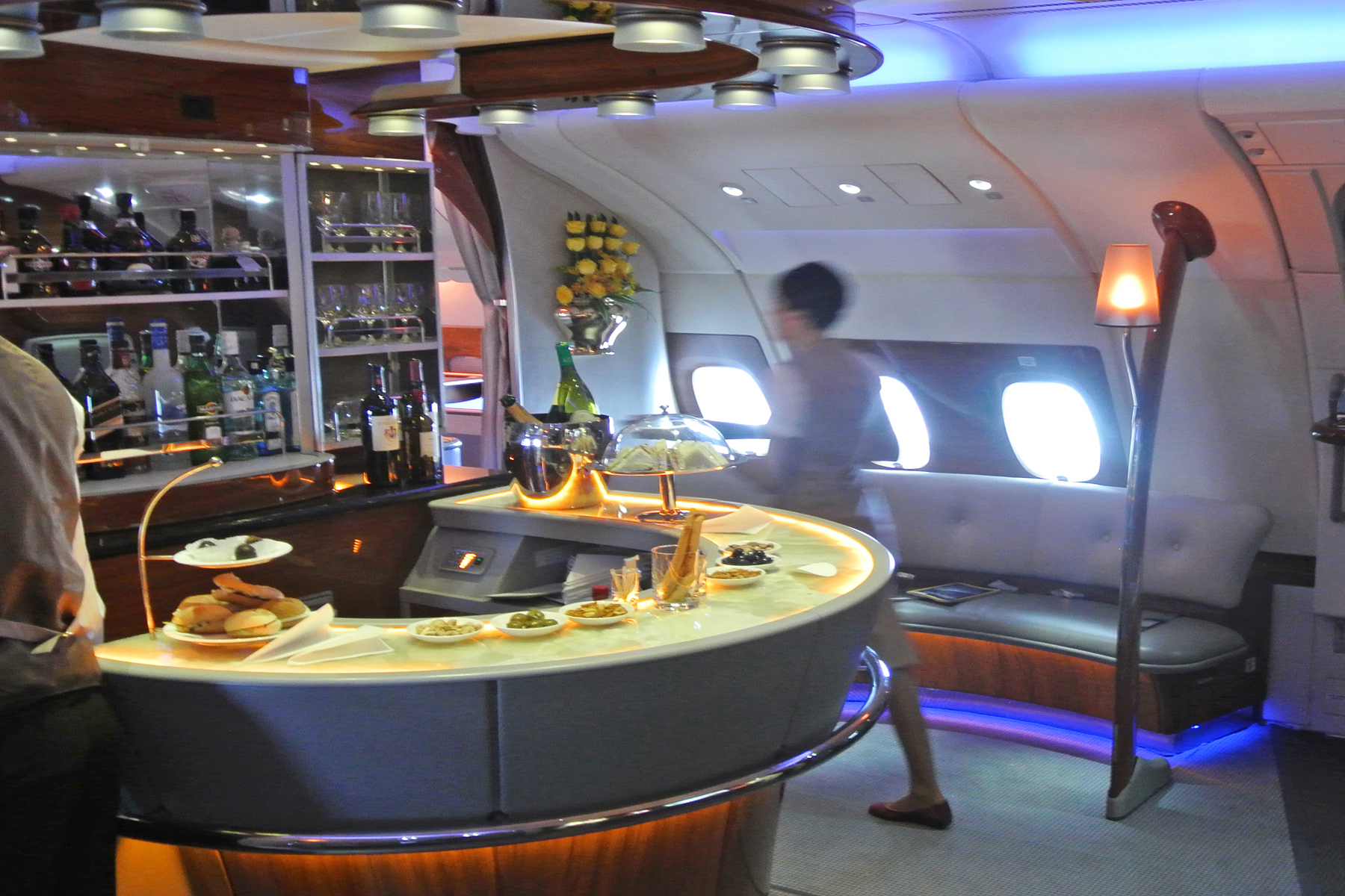 Emirates A380 Bar 2