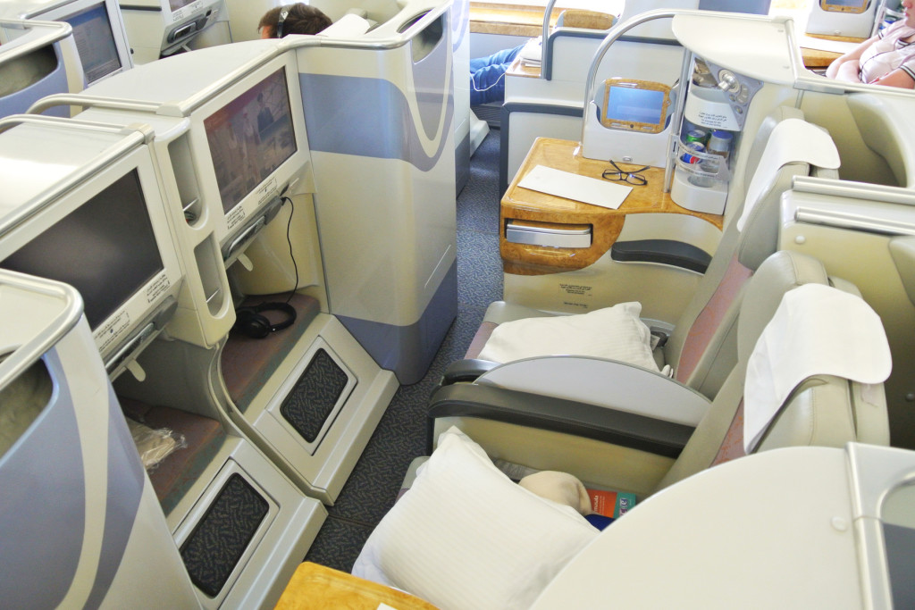 Emirates A380 Center