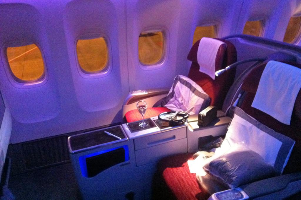 Qatar 777 Seat