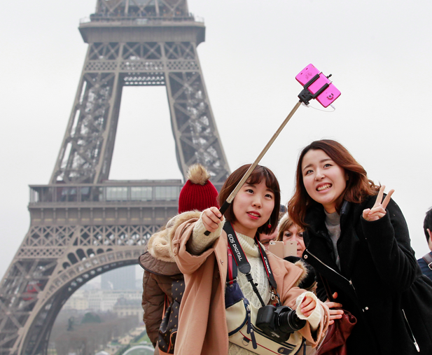 Selfie Stick, Paris