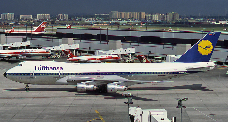 Lufthansa 747 Classic