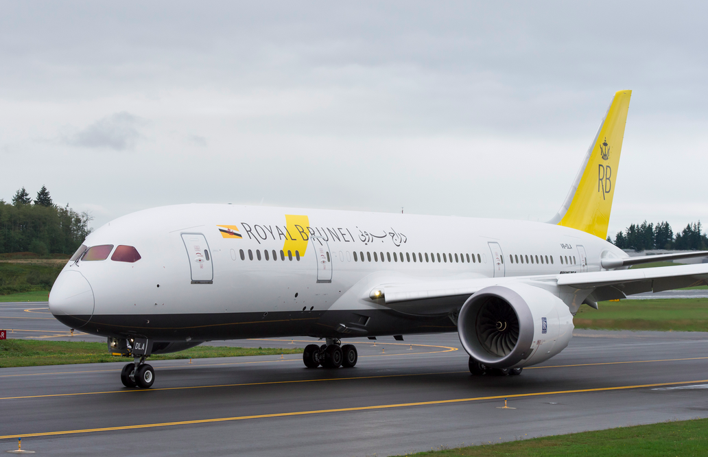 Royal Brunei new livery 787