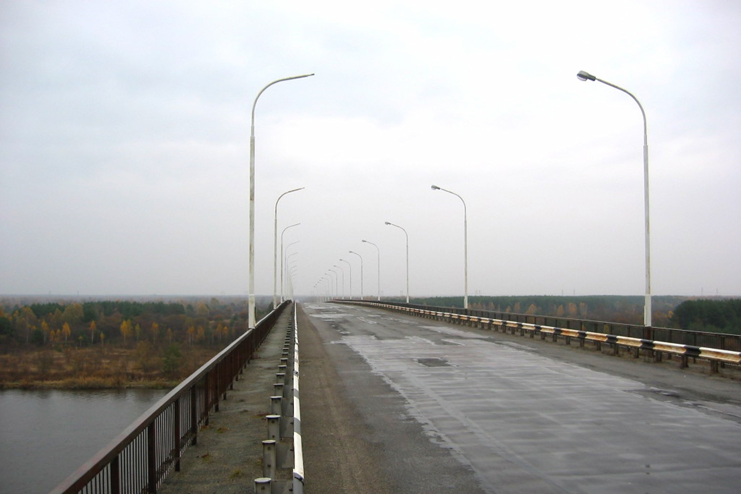 Chernobyl Pripyat Bridge