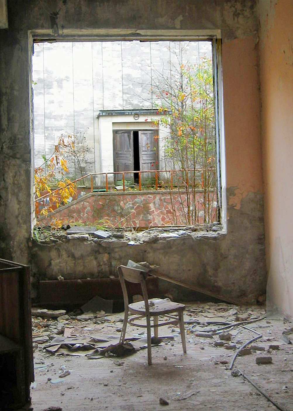 Chernobyl Pripyat Window & Chair