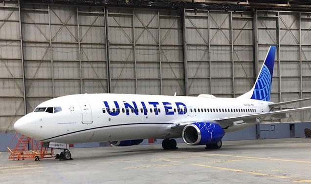 United Airlines Reveals New Livery