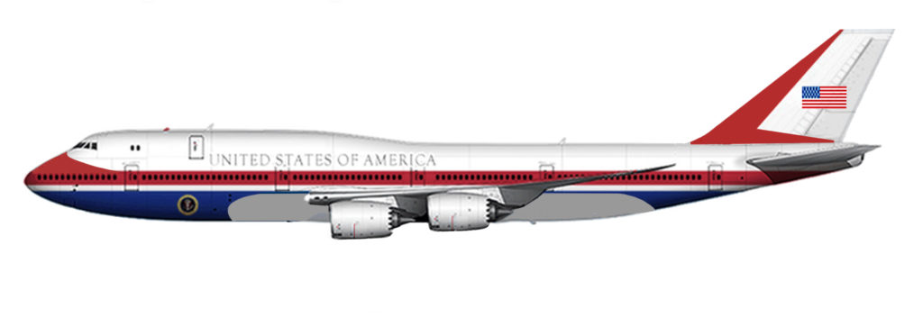 donald trump new design air force one